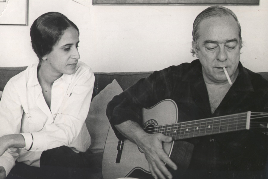Maria Bethânia y Vinicius de Moraes