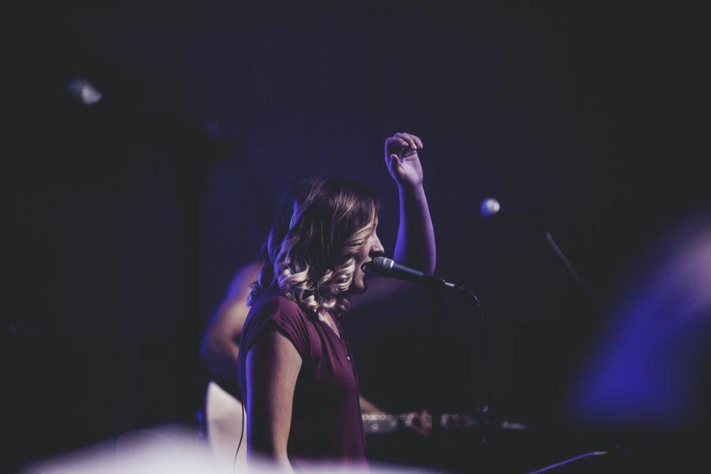 cantante aprender música