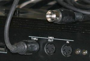 conectores Midi, grabar canciones