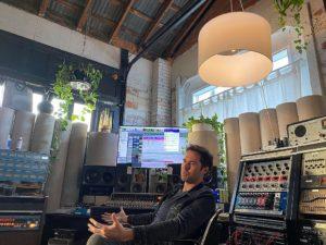 daw y estudio de grabación de audio