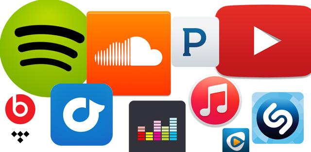 Servicios de música online