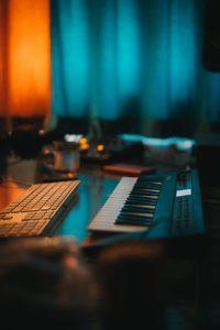 Detalle de un Home Studio