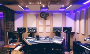 estudio de audio profesional