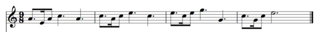 motivo musical y variaciones