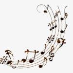 como son las notas musicales
