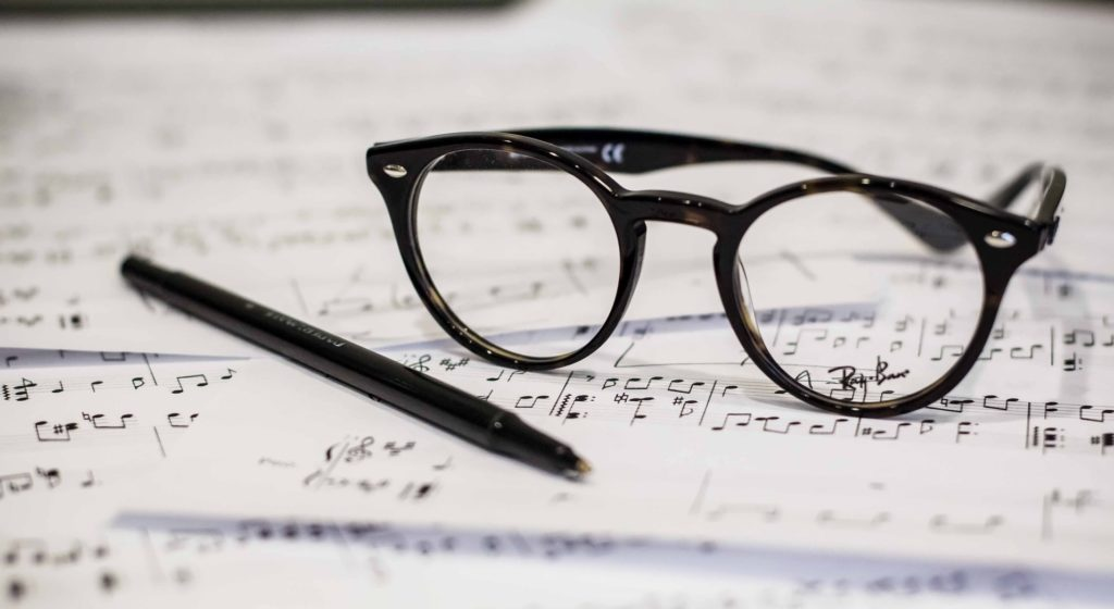 estudiando música