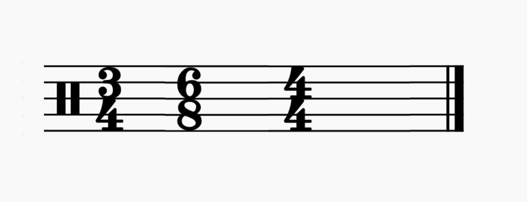 compas musical y compases