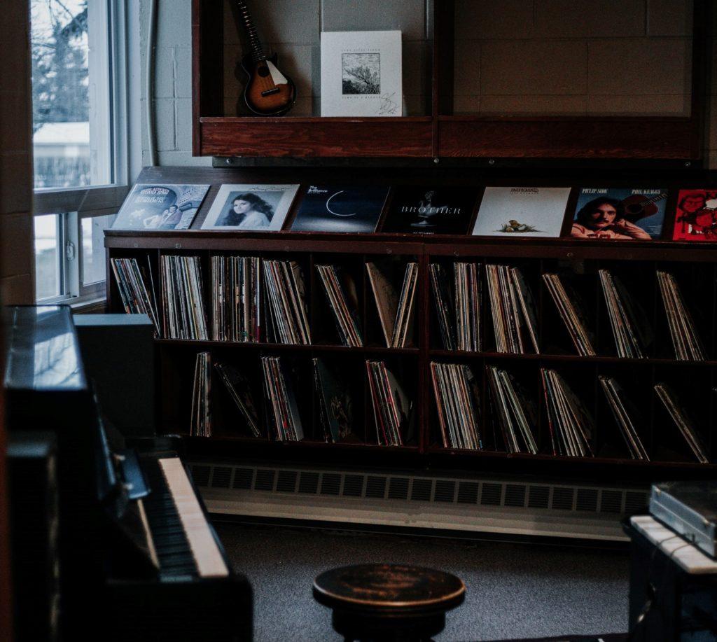 espacio para crear canciones musica
