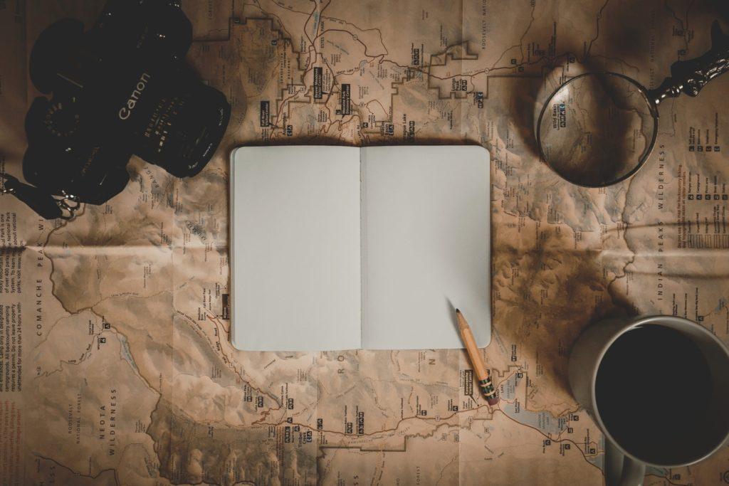 es hora de escribir, el tema aparecerá