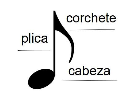 forma de una figura musical